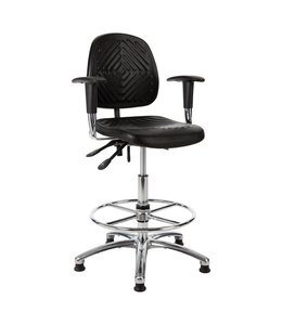 INOFEC Werkplaatsstoel W13 54-80cm met armleggers