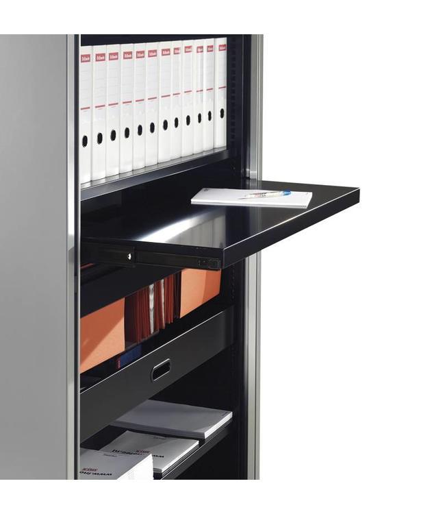 INOFEC Roldeurkast Trend uittrekbaar legbord voor kast 120b