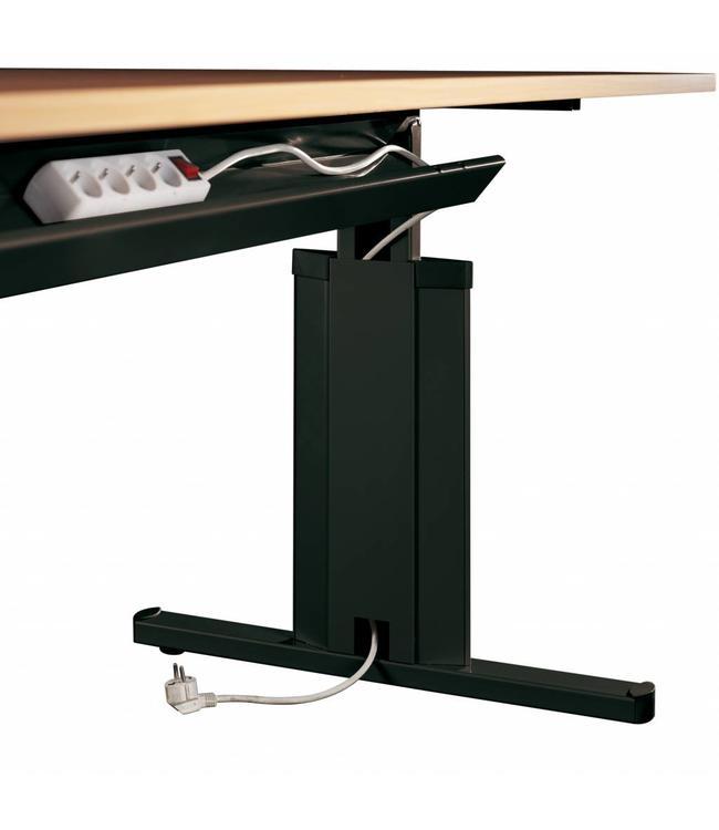 Inofec OP=OP Kabelgoot t.b.v. tafel van 80 cm (breedte 60 cm)