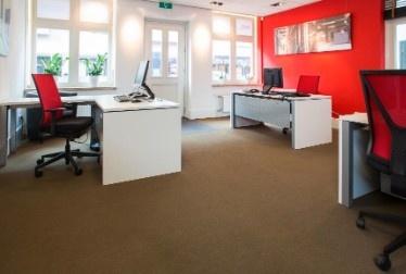 rode ergonomische bureaustoel