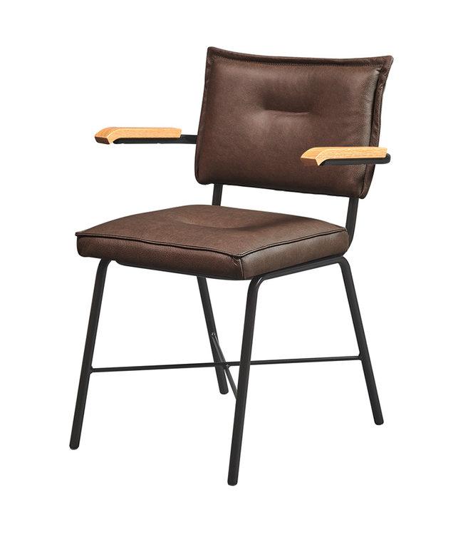 Meubelfabriek De Valk Horeca stoel 4x4 Vintage 4-poots