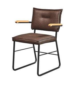 Meubelfabriek De Valk Horeca stoel 4x4 Vintage slede