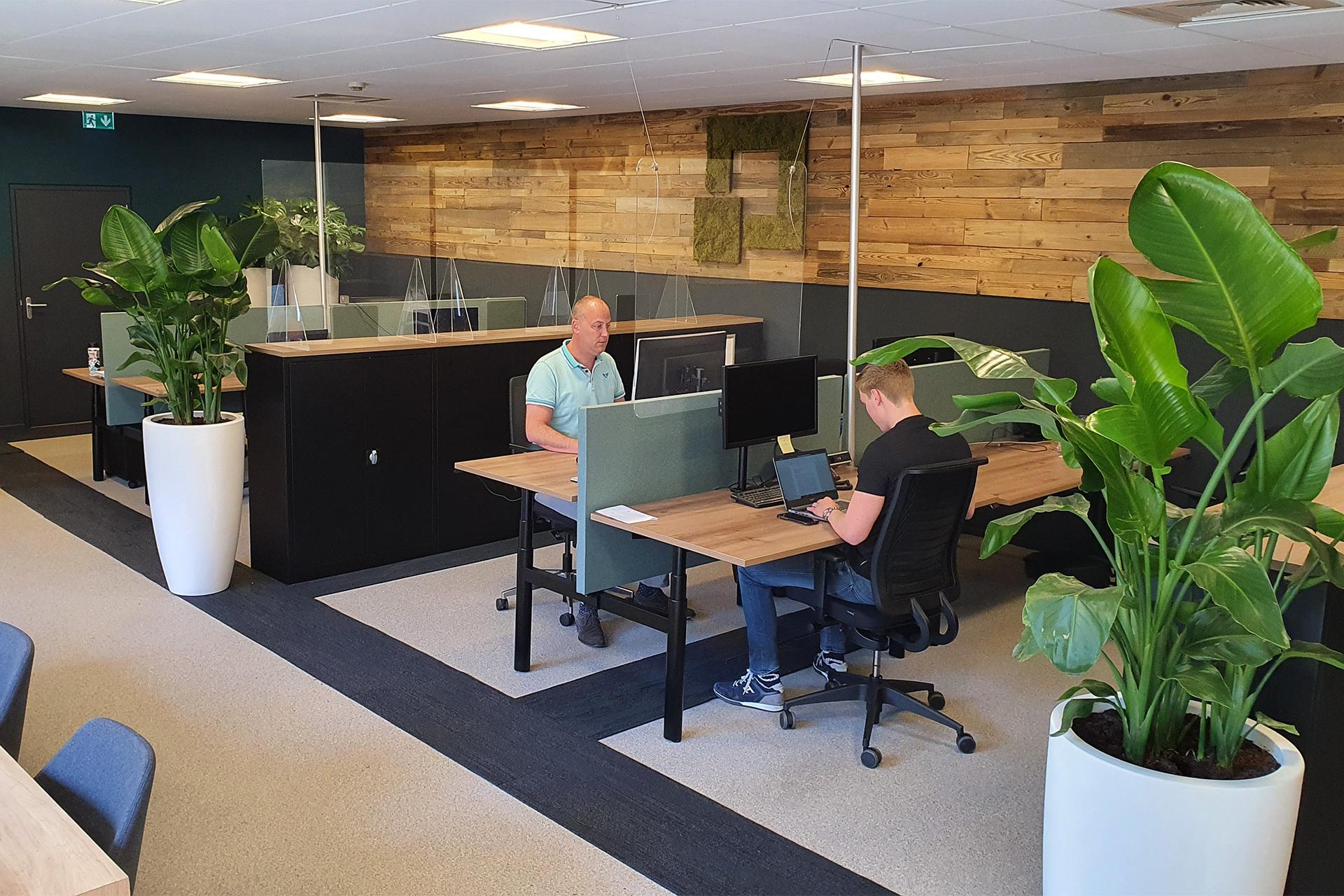 Opvallend ANDERS werken - anderhalvemeter werkplek