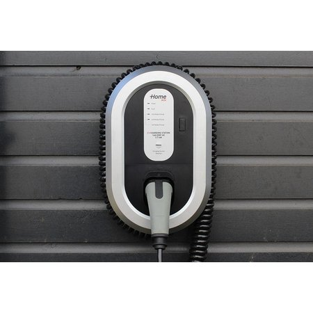 Ratio EV Home Box Laadstation type 2, 16A met 4 meter coiled laadkabel