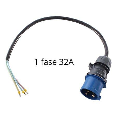 Ratio Voedingskabel voor laadstation met CEE stekker - 1 x 32A