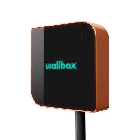 Wallbox Copper 22 kW - EV Laadstation type 2 met vaste rechte laadkabel