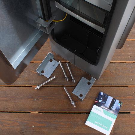 Wallbox Onyx Mono Laadzuil voor Copper wandlader