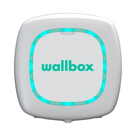 Wallbox Pulsar 7,4 kW - EV Laadstation Wit type 1, 32A met vaste rechte laadkabel