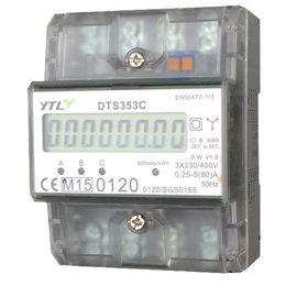 EMAT kWh meter 80A 3-fase Dinrail MID Gekeurd