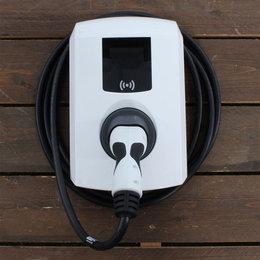 Alfen Eve Single Pro-line - 3 x 16A - 8 meter vaste kabel - RFID - E-Flux