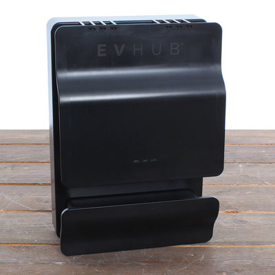 EVHUB Laadstation type 2, 16A, 1 of 3 fase, Outlet - Zwart