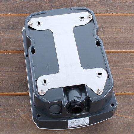 Alfen  Eve Single S-line - 1 x 32A (7,4kW) - Socket - Load Balancing - Grijs RAL 7043