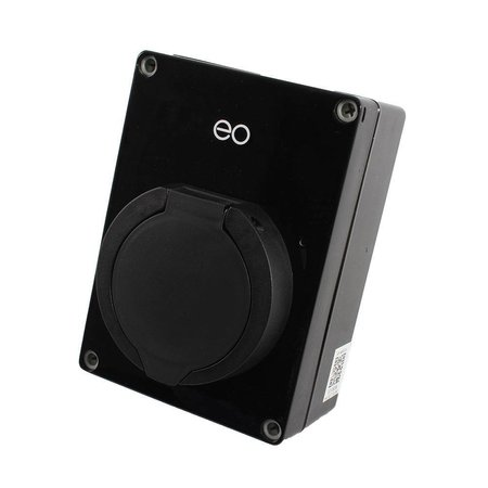 EO Mini Pro 2 Laadstation type 2 Outlet 32A Zwart