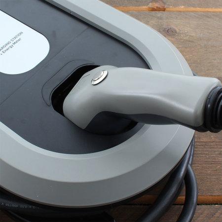 Ratio EV Tesla Home Box Plus type 2, 16A, 3 fase met vaste rechte laadkabel + KWh meter