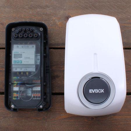 EVBox Elvi 3-fase 32A 22kW Socket Wi-Fi/kWh/UMTS Wit