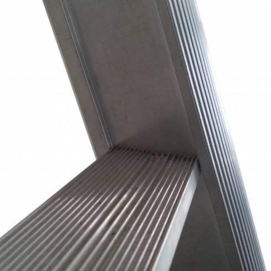Enkele ladder uitgebogen 1x24