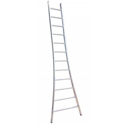 MAXALL enkele ladder uitgebogen 1x24