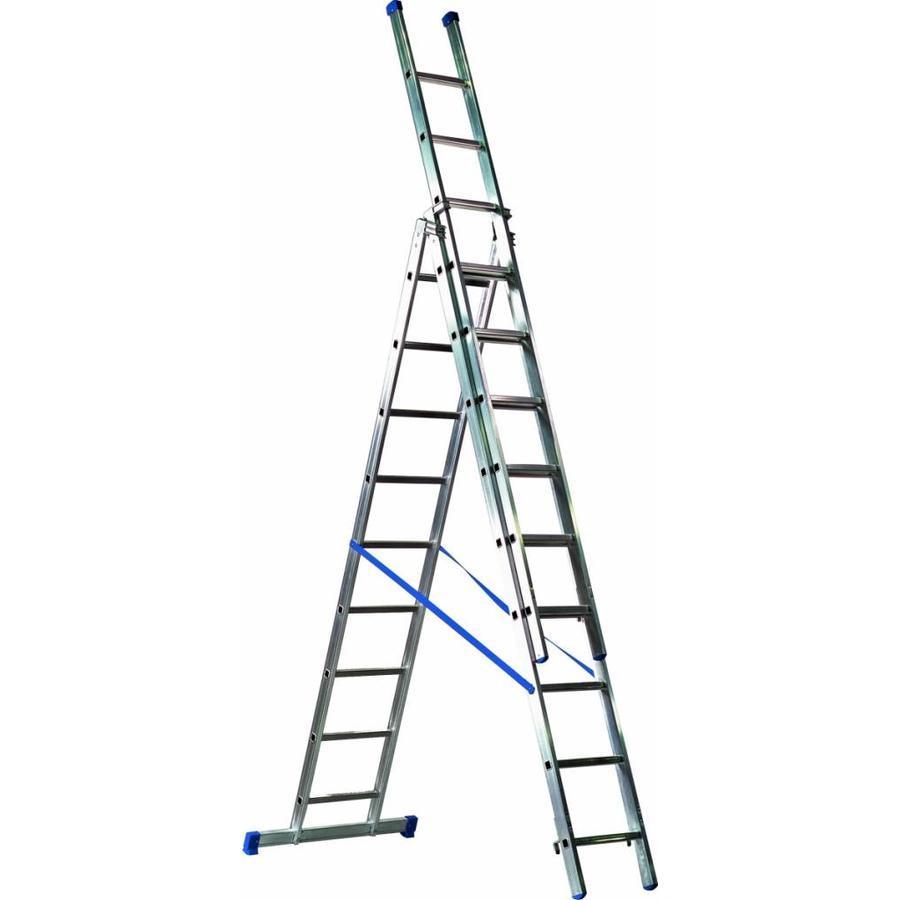 Glazenwassersladder 3x9