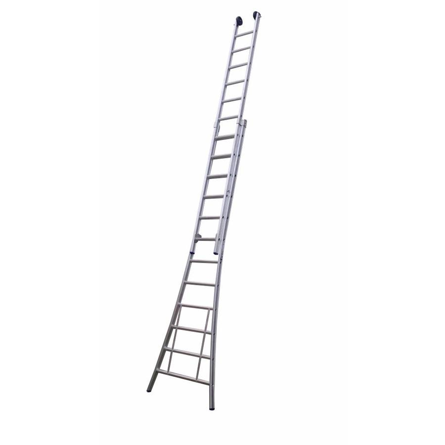 Tweedelige ladder 2x16