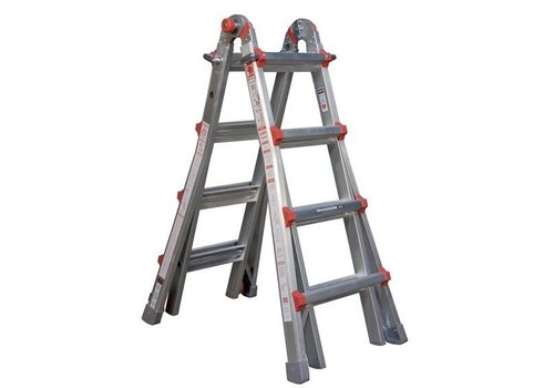 Little Giant telescopische vouwladder 4x4