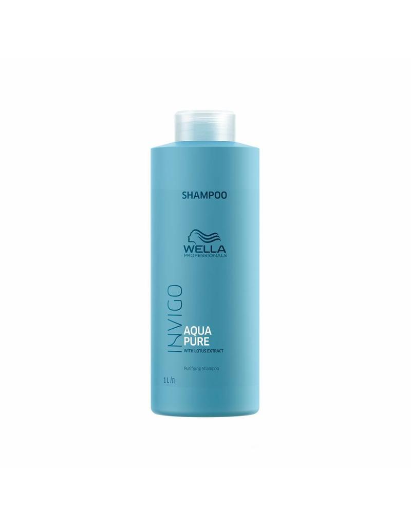 Wella INVIGO Balance Aqua Pure Tiefenreinigendes Shampoo 1000ml