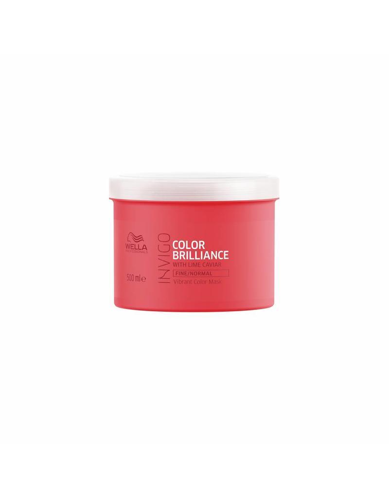 Wella INVIGO Color Brilliance Maske für feines/normales Haar 500ml