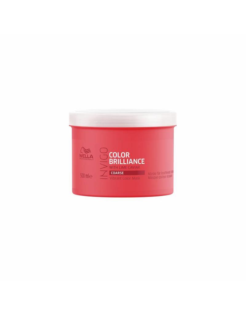 Wella INVIGO Color Brilliance Maske für kräftiges Haar 500ml