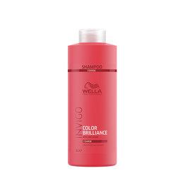 Wella INVIGO Color Brilliance Farbschutz Shampoo für kräftiges Haar 1000ml