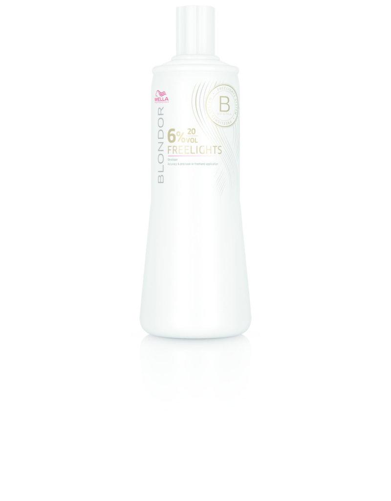 Wella Blondor Freelights Oxidationsmittel 6% 1000ml