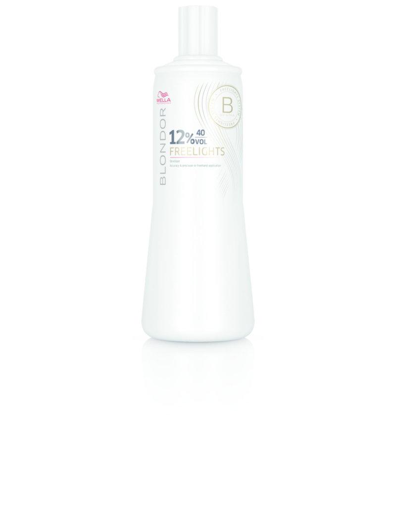 Wella Blondor Freelights Oxidationsmittel 12% 1000ml