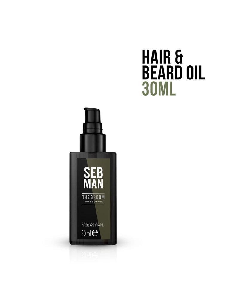Wella SEB MAN The Groom Pflegeöl für Haare und Bart 30ml