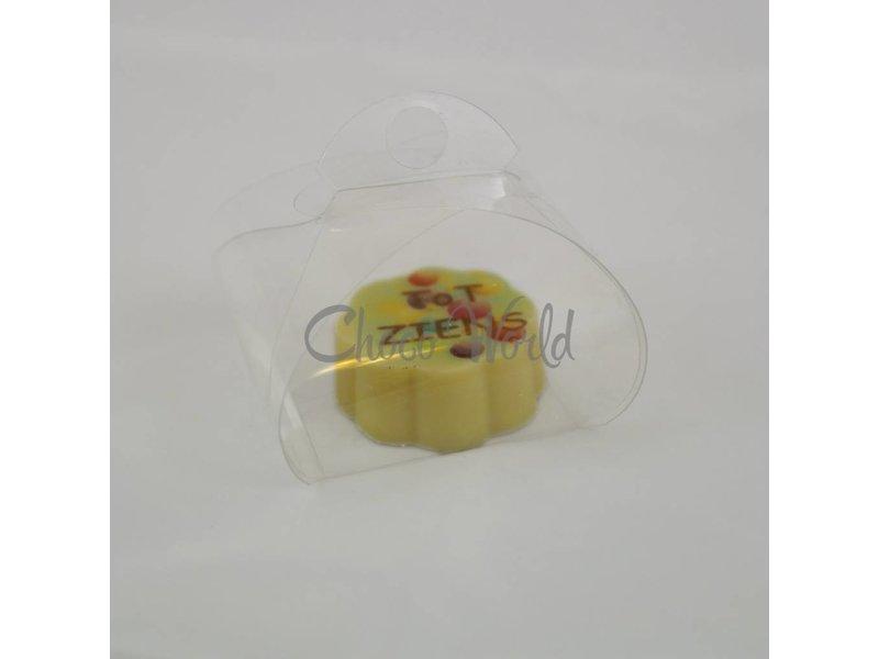 Bonbons Hartje Melk met Foto/Logo 1 stuk
