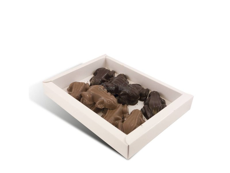 Chocolade kikkers 10 stuks