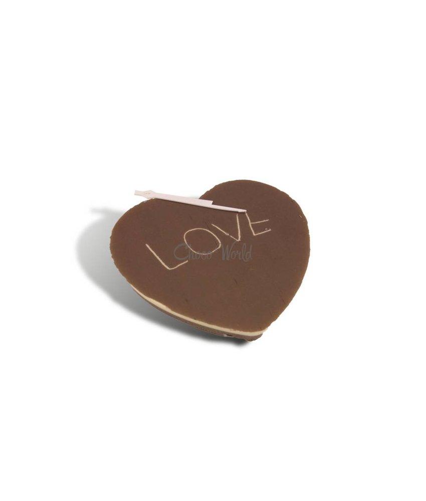 Chocolade hart klein