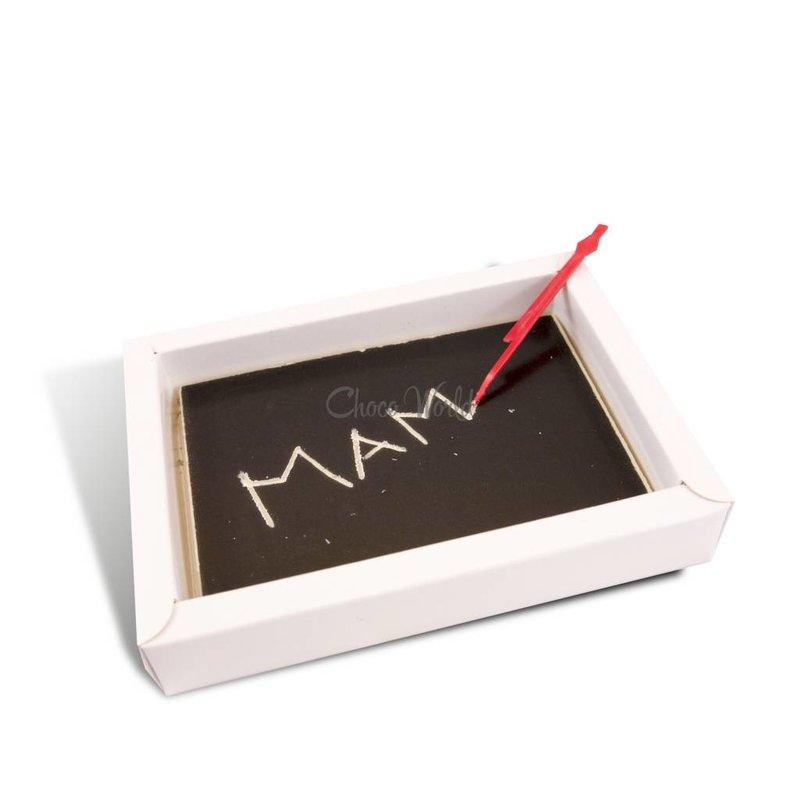 Chocolade schoolbord klein