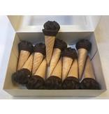 Chocolade ijsje 12 stuks