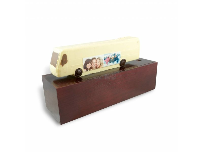 Chocolade Bus met foto en garage