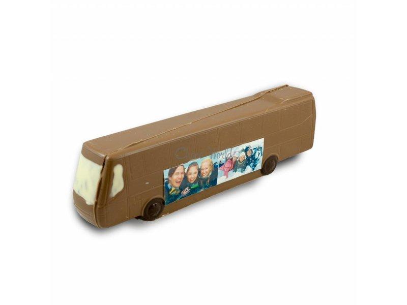Chocolade Bus met foto
