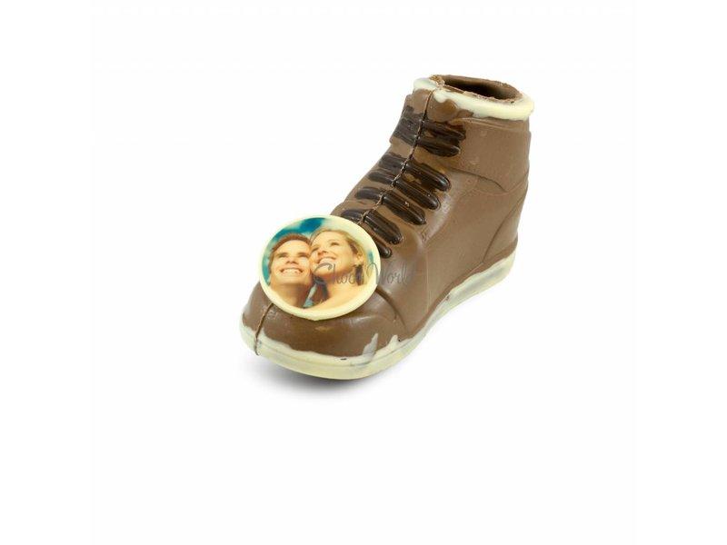 Chocolade Sneaker met foto