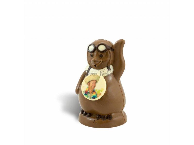 Chocolade Pinguïn met foto