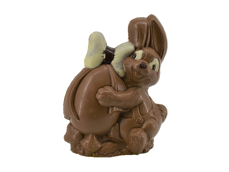 Chocolade paashaasje