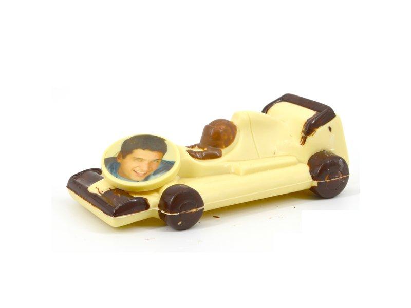 Racewagen met foto
