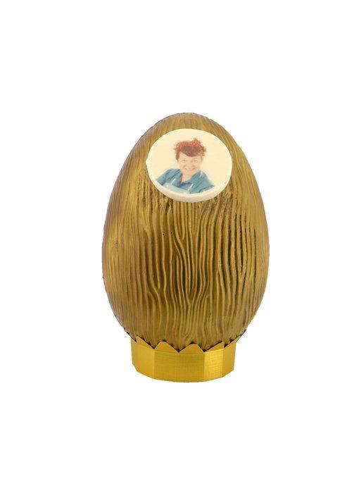 Gouden Ei Kingsize met foto/logo