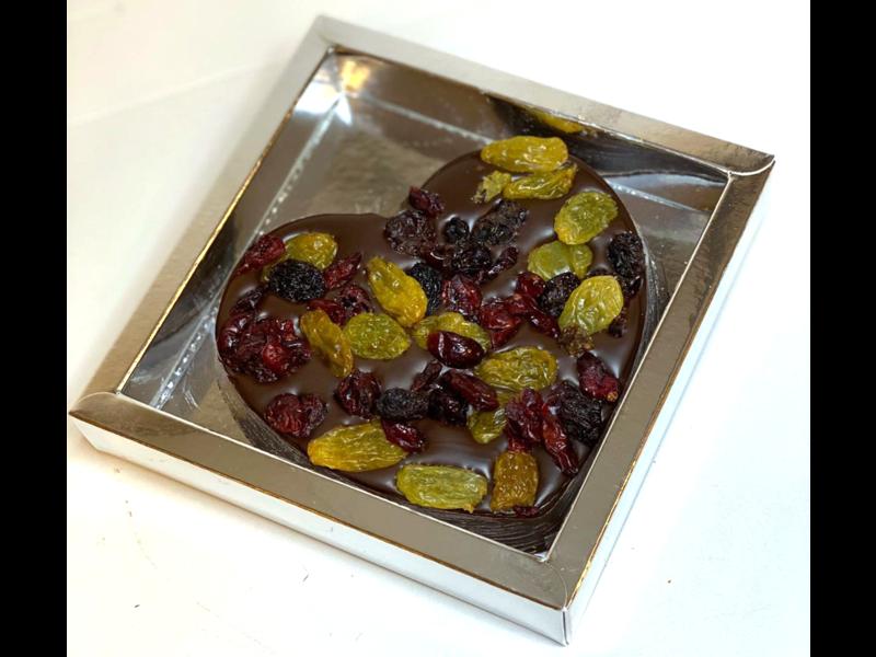 Hart klein met Cranberrie mix