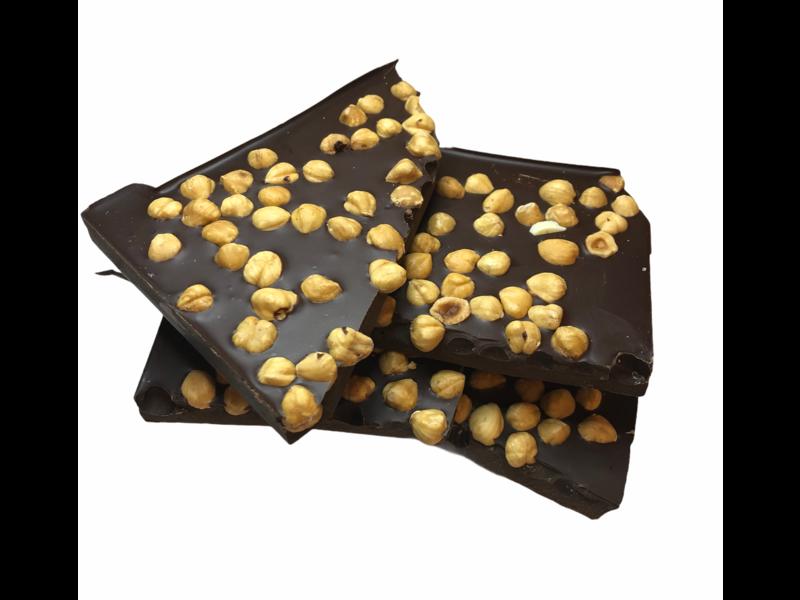 Breekchocolade Hazelnoten