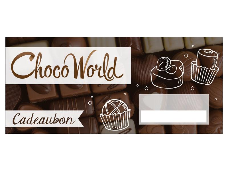 Choco World Cadeaukaart Choco World