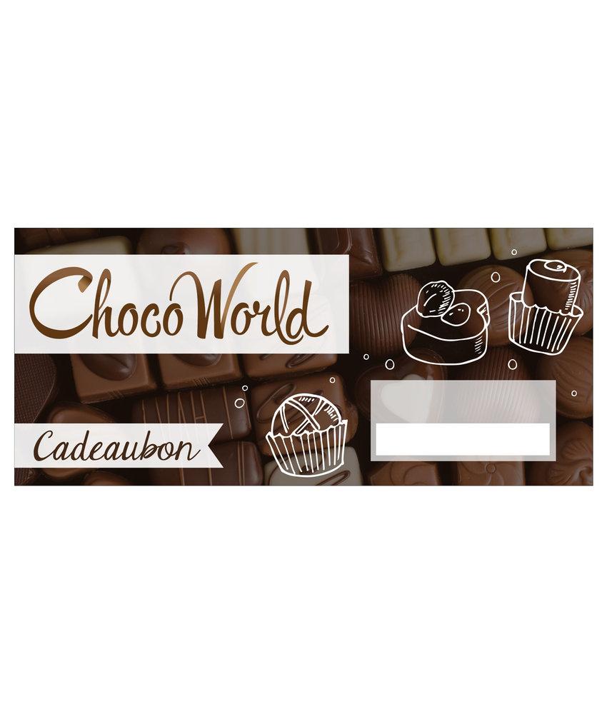 Choco World Cadeaukaart