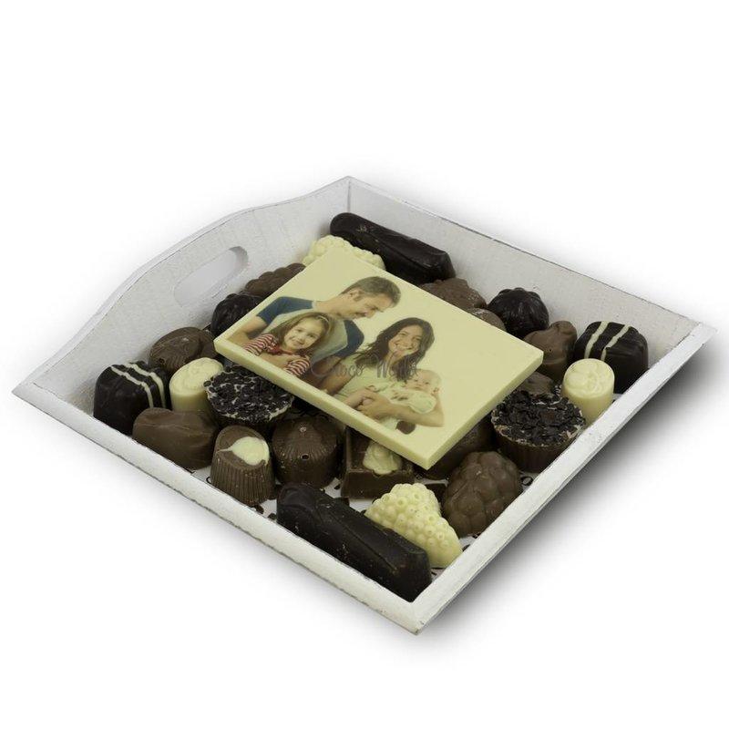 Slagroom Bonbons Assortiment Middel met Chocoladekaart