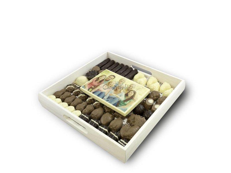Slagroom Bonbons Assortiment Kingsize met Chocoladekaart