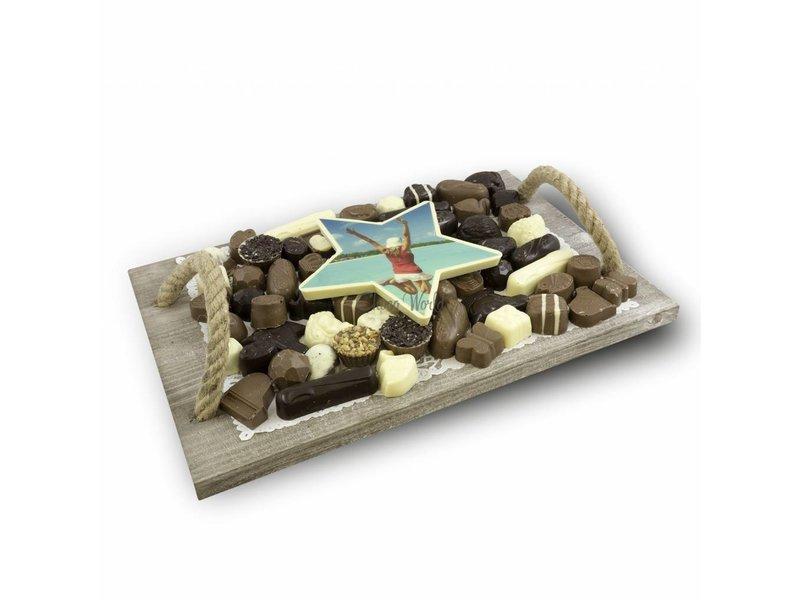 Slagroom Bonbons Assortiment Super met Chocoladester